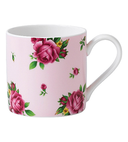 WEDGWOOD New Country Roses Pink modern mug