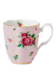 WEDGWOOD New Country Rose vintage mug