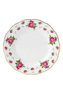 ROYAL ALBERT New Country Roses White bread & butter plate 16cm