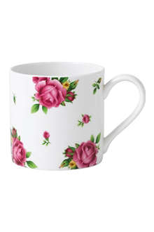 ROYAL ALBERT New Country Roses White modern mug