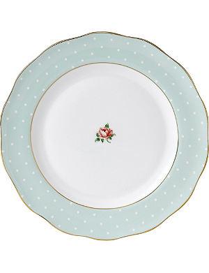 ROYAL ALBERT Polka Rose Vintage plate 27cm