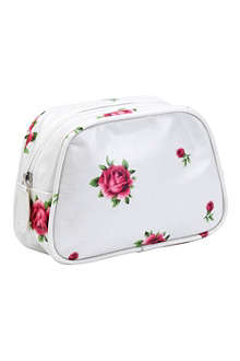 WEDGWOOD Floral make-up bag