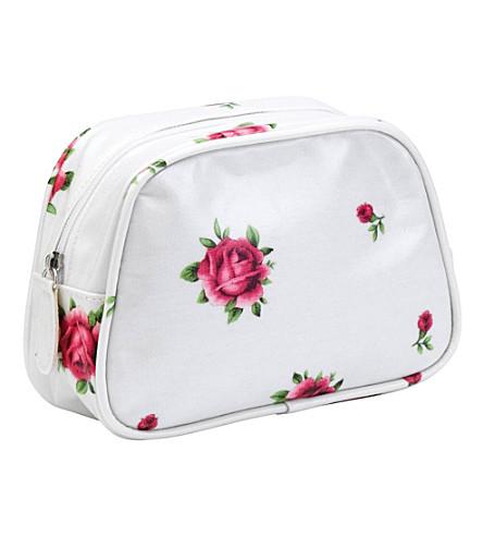 WEDGWOOD Floral make-up bag