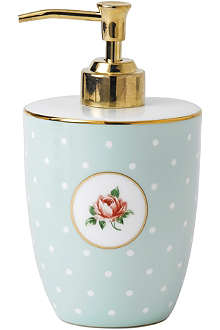 ROYAL ALBERT Polka Rose soap dispenser