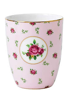 ROYAL ALBERT Royal Albert New Country Roses Pink beaker