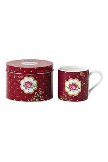ROYAL ALBERT Mug and tin gift set