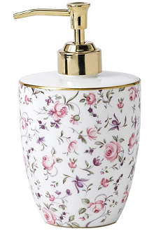 ROYAL ALBERT Rose Confetti soap dispenser
