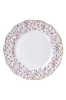 ROYAL ALBERT Royal Albert Rose Confetti Vintage plate