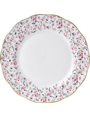 ROYAL ALBERT Royal Albert Rose Confetti Vintage plate