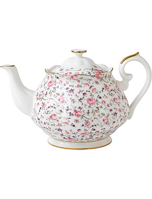ROYAL ALBERT Rose Confetti teapot 1.25L