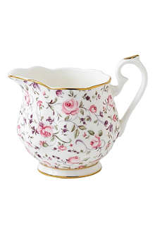 WEDGWOOD Royal Albert Rose Confetti Vintage creamer