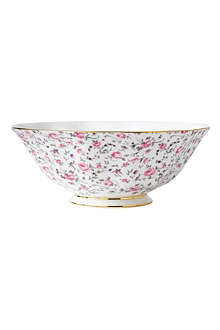 ROYAL ALBERT Royal Albert Rose Confetti Vintage salad bowl 24.5cm