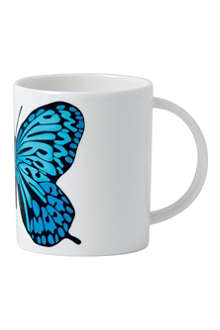 ROYAL DOULTON Neon butterfly mug