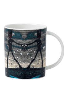 ROYAL DOULTON Abstract design mug