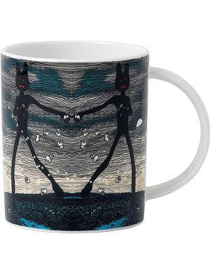 ROYAL DOULTON Abstract design mug