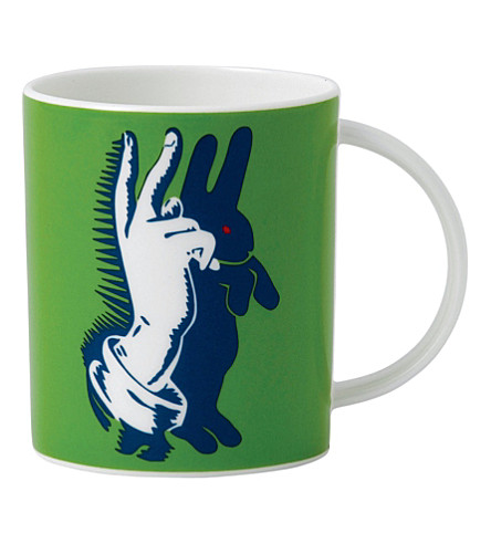 ROYAL DOULTON 'Bunny fingers' mug