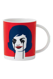 ROYAL DOULTON Nightmare abstract mug