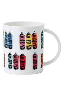 ROYAL DOULTON Nick Walker graffiti can mug