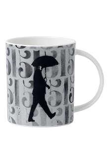 ROYAL DOULTON Nick Walker umbrella mug