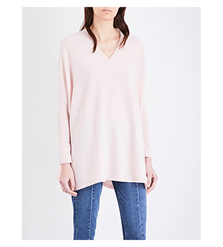 MO&CO. Oversized wool jumper (Crystal+pink