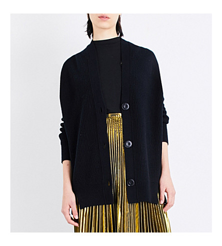 MO&CO. Oversized cardigan (Black