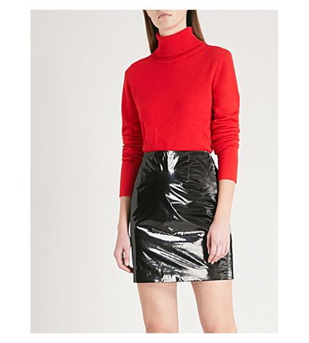 MO&CO. Turtleneck wool jumper (Fiery+red