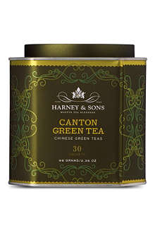 HARNEY AND SONS Canton green tea silk tea sachets 66g