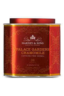HARNEY AND SONS Palace Gardens Chamomile herbal silk tea sachets 30g