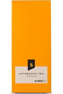 SELFRIDGES SELECTION Afternoon tea bags 30g