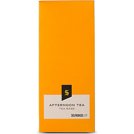 SELFRIDGES SELECTION Afternoon tea bags 30g