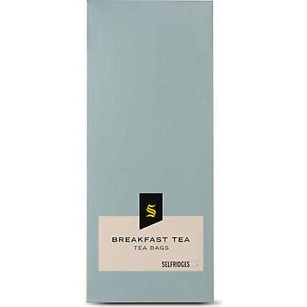 SELFRIDGES SELECTION Breakfast tea bags 30g