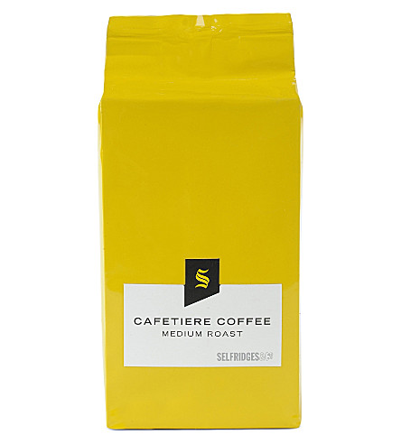 SELFRIDGES SELECTION Cafetiere medium roast coffee refill bag 250g