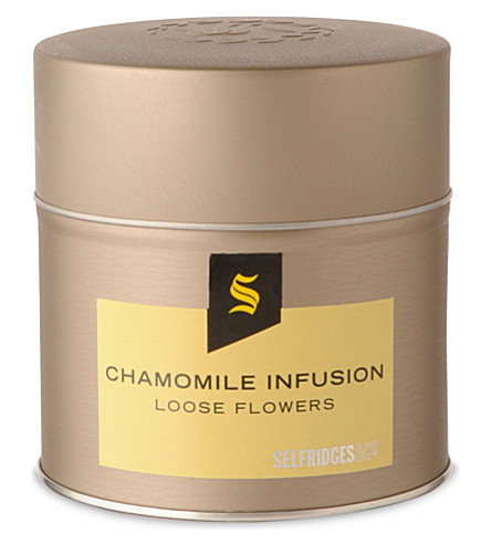 SELFRIDGES SELECTION Chamomile infusion loose tea 36g