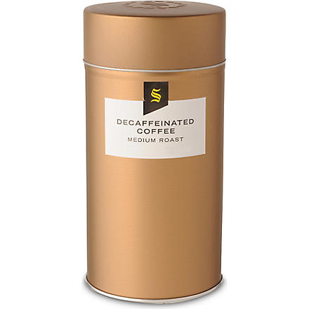 SELFRIDGES SELECTION Decaffeinated coffee tin 250g