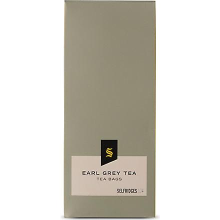 SELFRIDGES SELECTION Earl Grey tea bags 30g