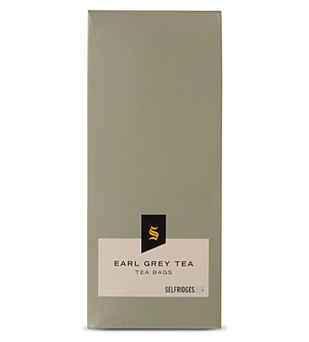 SELFRIDGES SELECTION Earl Grey tea bags 30g