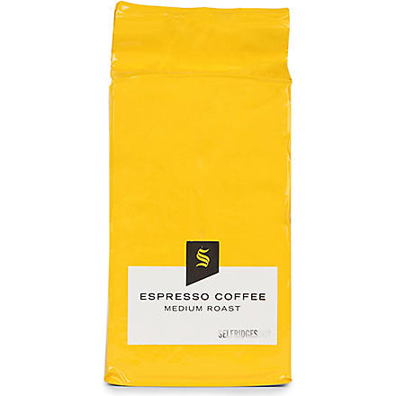 SELFRIDGES SELECTION Espresso coffee refill bag 250g