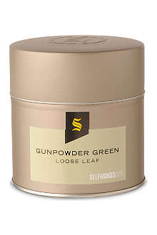 SELFRIDGES SELECTION Gunpowder green loose leaf tea 116g