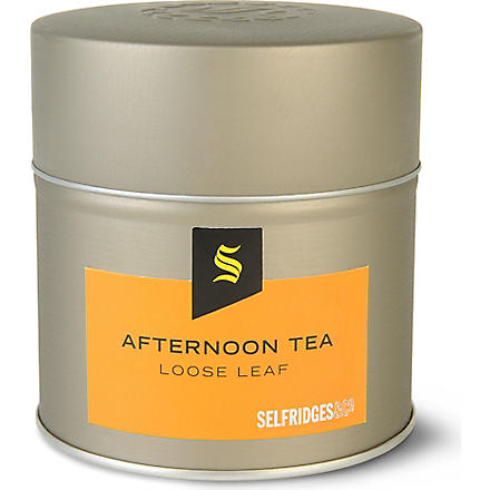 SELFRIDGES SELECTION Afternoon tea loose leaf tea 100g