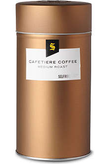 SELFRIDGES SELECTION Medium roast cafetiere coffee 250g