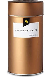 SELFRIDGES SELECTION Espresso coffee tin 250g
