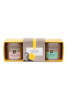 SELFRIDGES SELECTION Infusion loose leaf tea gift set 100g