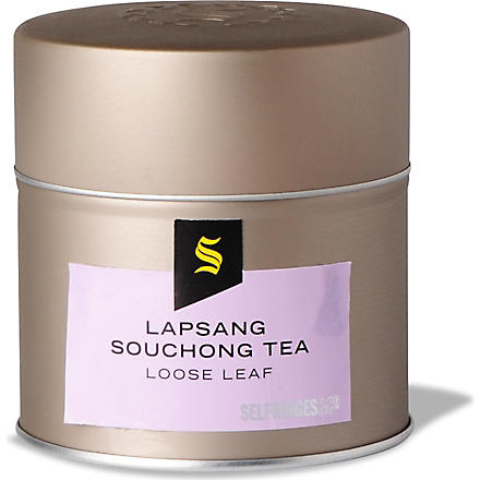 SELFRIDGES SELECTION Lapsang souchong loose leaf tea 95g