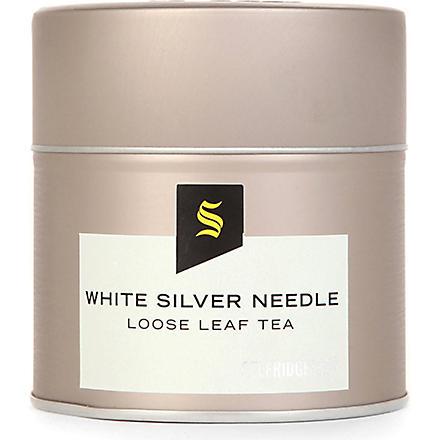 SELFRIDGES SELECTION White silver needle loose leaf tea 42g