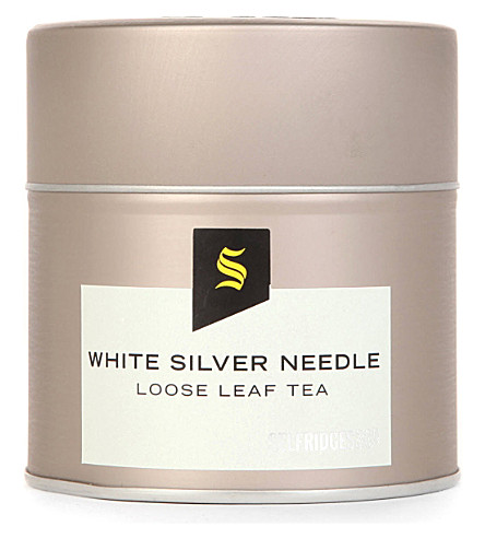 SELFRIDGES SELECTION White silver needle loose leaf tea 42g