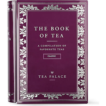 TEA PALACE Classic Book of Tea loose leaf selection 125g