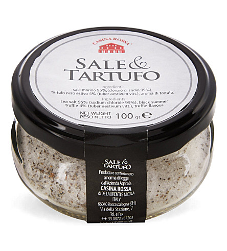 HERBS & SPICES Truffle sea salt 100g
