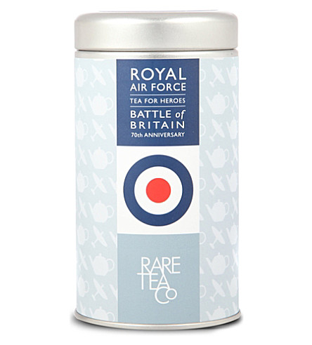RARE TEA CO Royal Air Force Re-Fuel loose leaf tea tin 50g