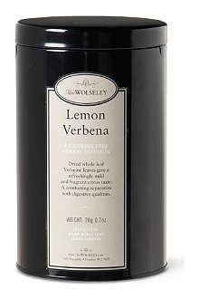 THE WOLSELEY Lemon Verbena caffeine-free loose tea tin 20g