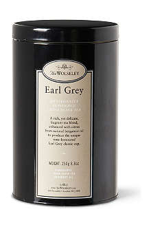 THE WOLSELEY Earl Grey loose leaf tea tin 250g